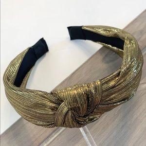 Bronze Metallic Headband